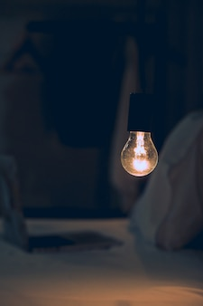 Loft glühbirnen hause led-beleuchtung