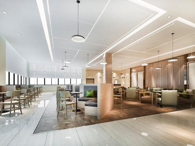 Loft und luxuscafé lounge restaurant