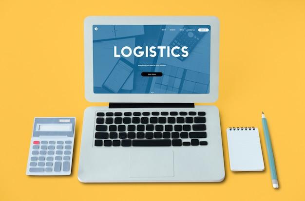 Logistik beschaffung versand fracht word