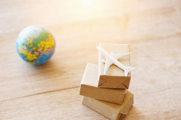 Logistik transport import export versand