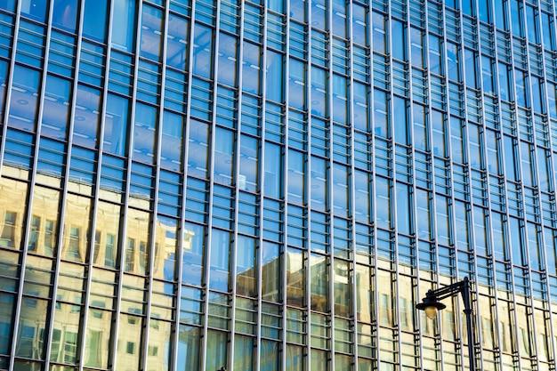 London-bürogebäudestadtbild für geschäftskonzept