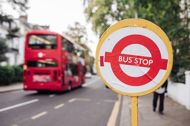 London bushaltestelle