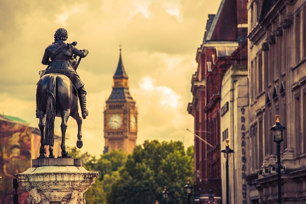 London charles i. statue