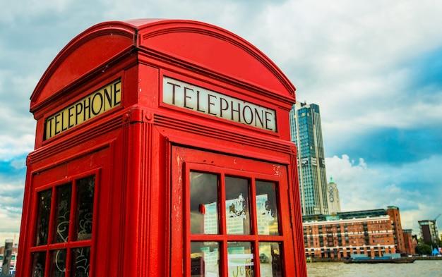 London red telefonzelle