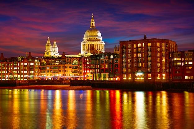 London st paul pauls kathedrale von millennium