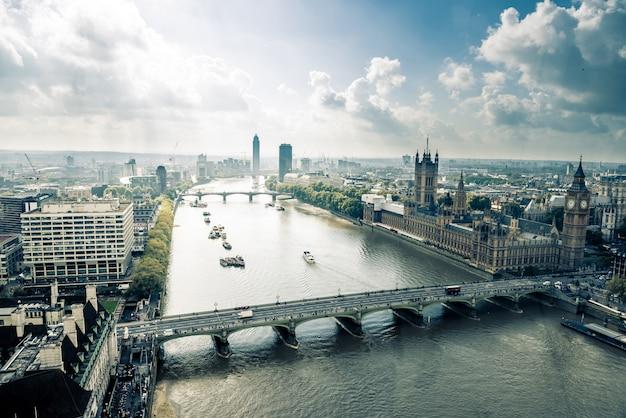 London-stadtskyline, vereinigtes kindom