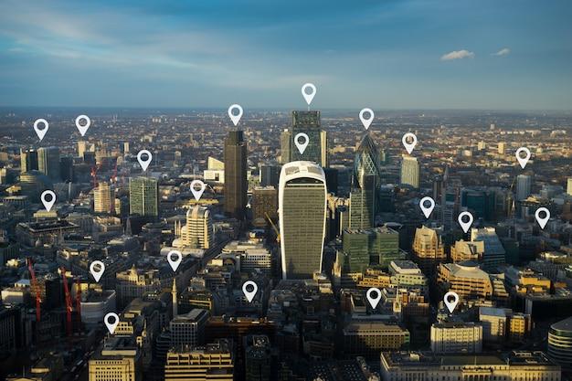 Londoner bürogebäude für netzwerk und zukunft