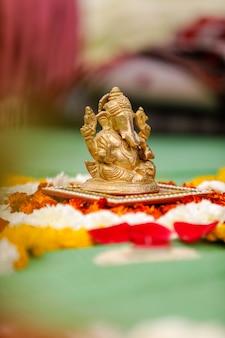Lord ganesha skulptur, indisches festival