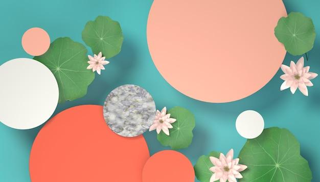 Lotusblatt hintergrund