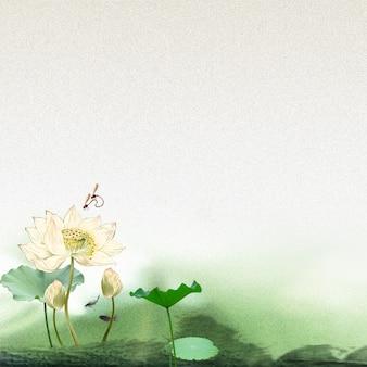 Lotusblumen-hintergrund
