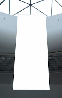 Low angle hing mock up billboard