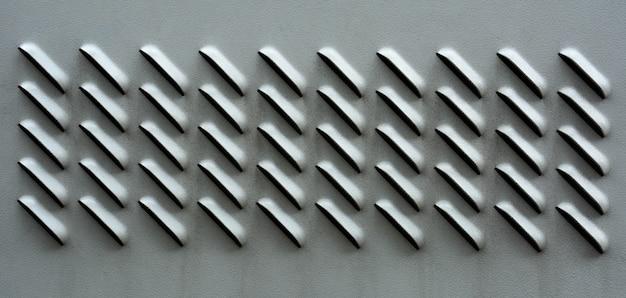 Lüftungsgitter aus metall
