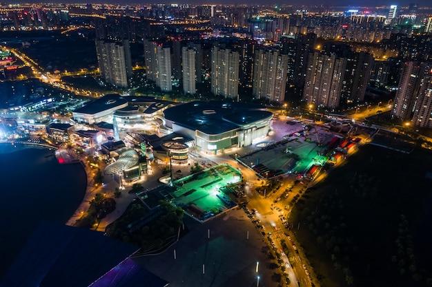 Luftaufnahme chinesische stadt