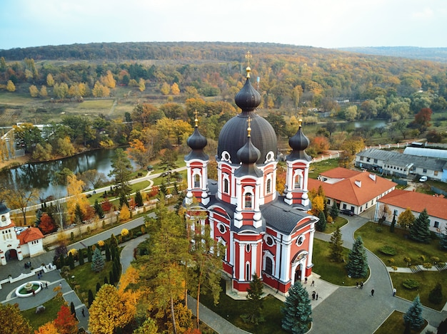 Luftaufnahme des curchi-klosters