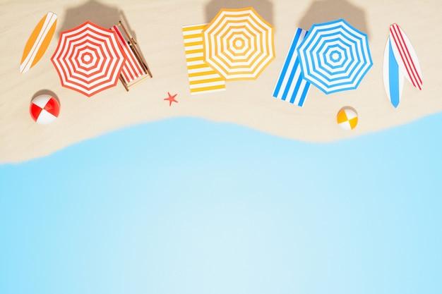 Luftaufnahme des strandresorts