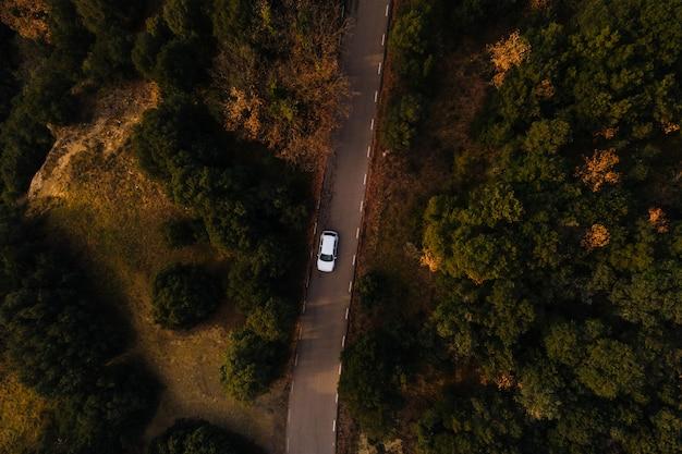 Luftbild der bergstraße