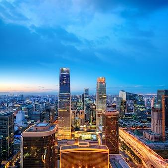 Luftbild von peking