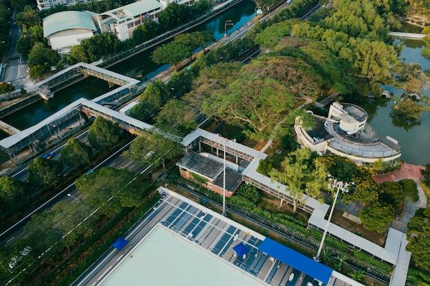 Luftbild von stadtbild