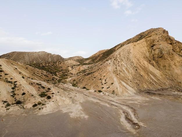 Luftbildansicht der berge