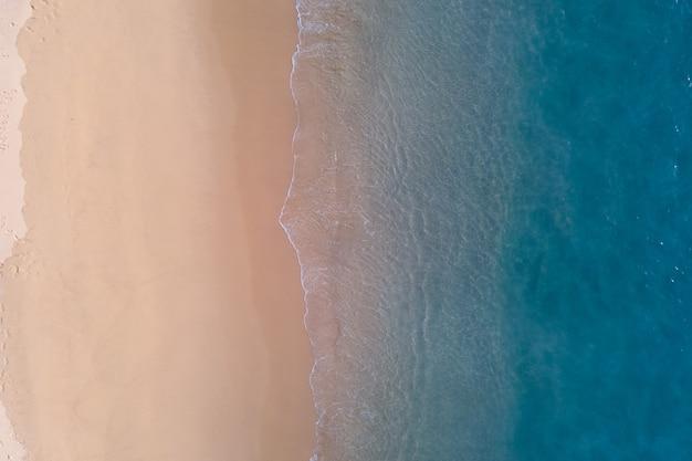 Luftbildaufnahme. strand meersand.