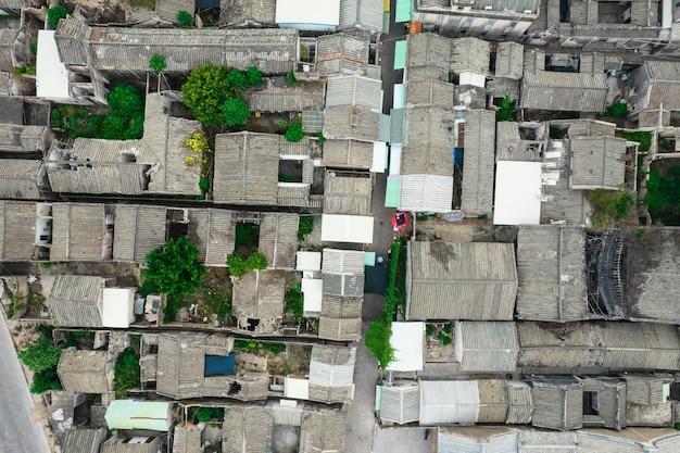 Luftbilder der alten stadt chaozhou in china