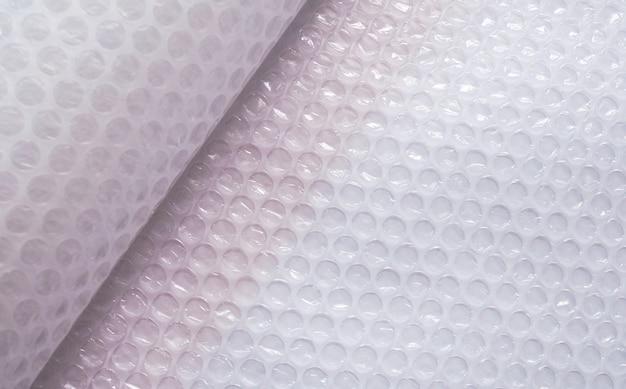 Luftpolsterfolie für die verpackung.