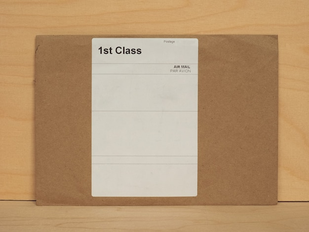 Luftpostbrief