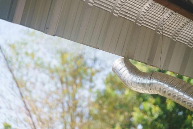Luftstaubschlauch mit verlängerung aus aluminiumfolie