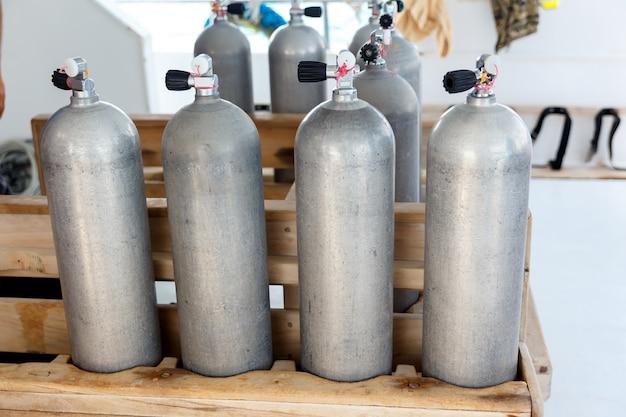 Lufttanks zum tauchen