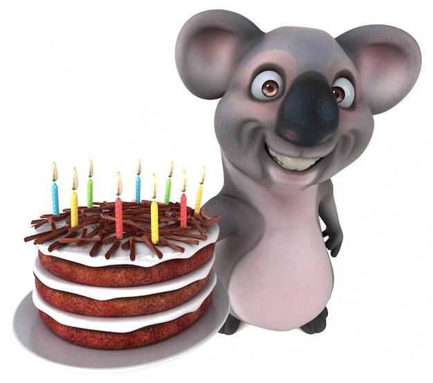 Lustige koala-animation