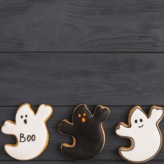Lustiger lebkuchen halloweens