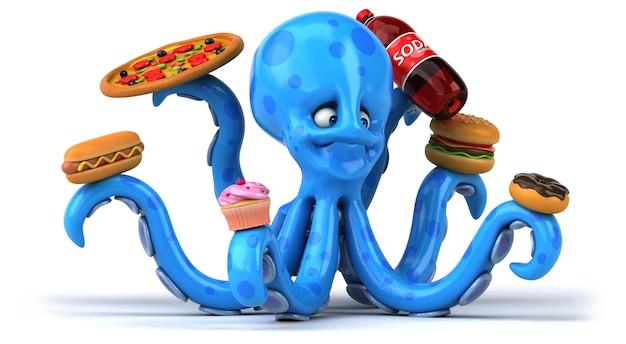 Lustiger oktopus