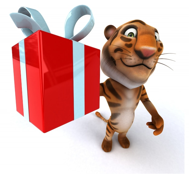 Lustiger tiger