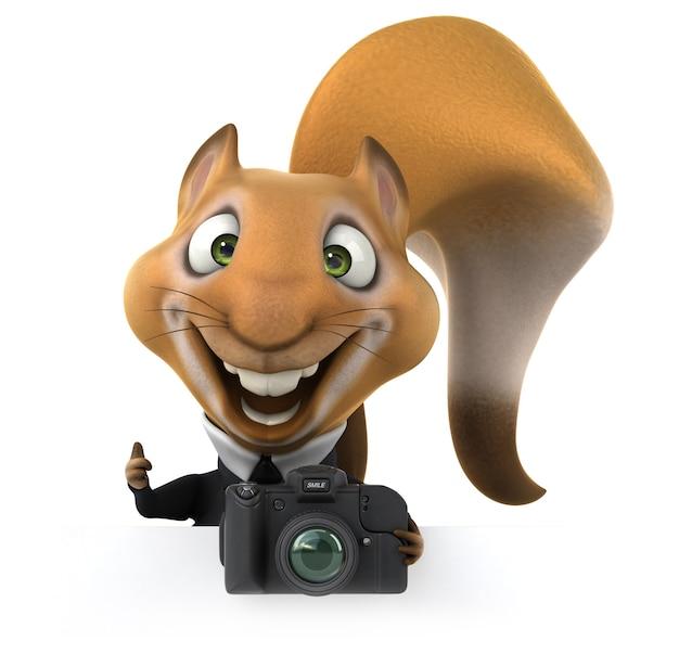Lustiges eichhörnchen