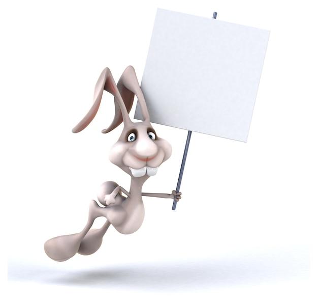 Lustiges kaninchen