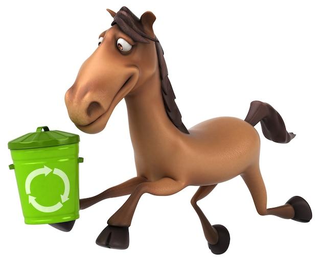 Lustiges pferd