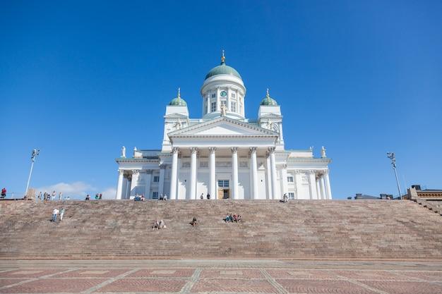 Lutherische kathedrale in helsinki, finnland