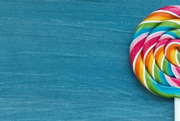 Lutscher mit vielen farben