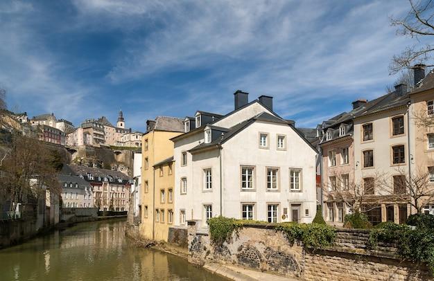Luxemburgische altstadt