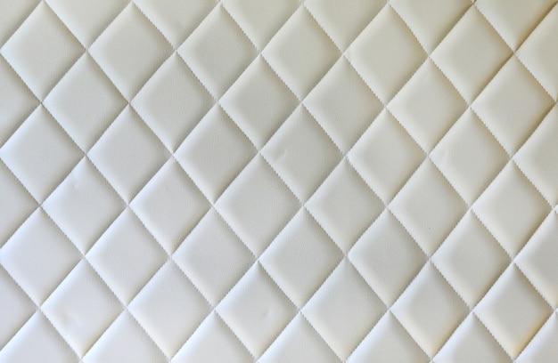 Luxuriöse creme leder textur möbel