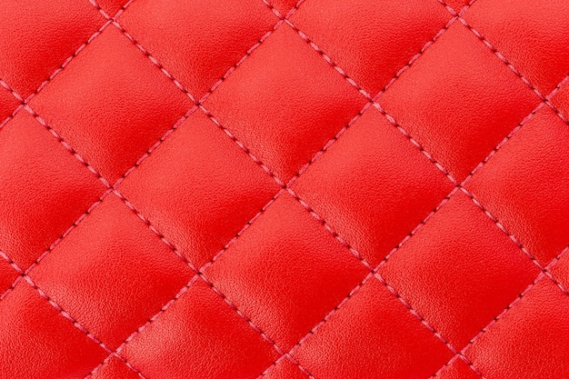 Luxuriöse rote lederstruktur