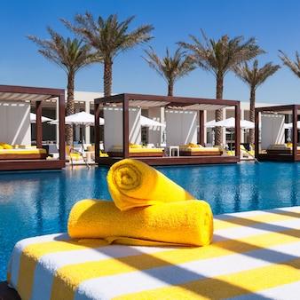 Luxuriöses resort und spa für den urlaub