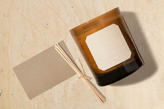 Luxus-aromakerze dekoratives home-spa-essential