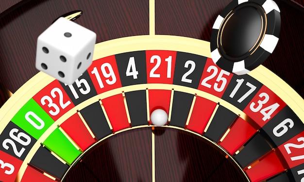 Luxus casino roulette rad