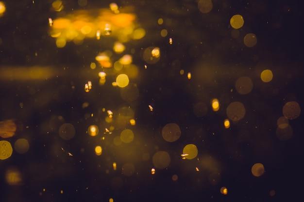 Luxus-goldabstraktes bokeh