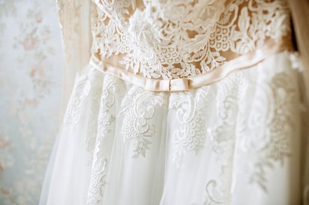 Luxus hochzeitskleid.