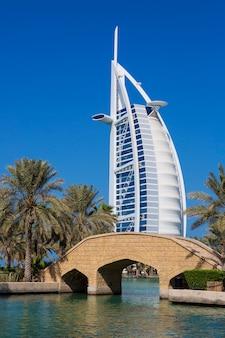Luxus-resort und spa für urlaub in dubai, vereinigte arabische emirate
