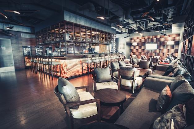 Luxus-restaurant interieur