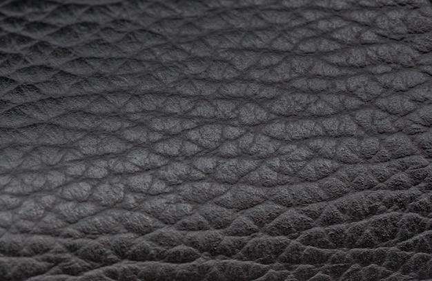 Luxus schwarzer leder textur hintergrund