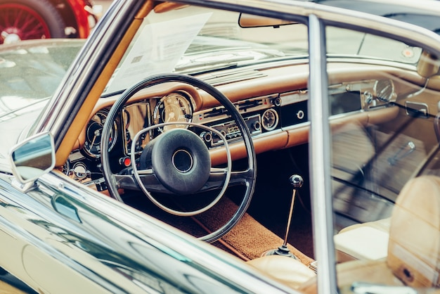 Luxusauto innenraum